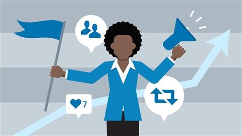 course illustration for Social Media Marketing Foundations (2017)