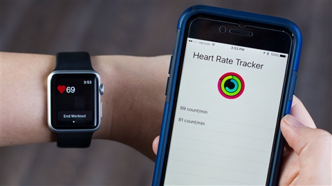 course illustration for Using the HealthKit API to Build iOS and watchOS Applications