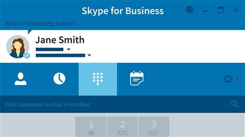 course illustration for Skype for Business Essential Training