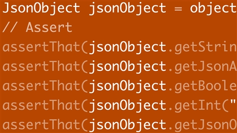 course illustration for JSON Processing with Java EE