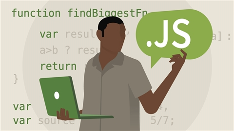 course illustration for JavaScript Essential Training (2017)