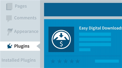 course illustration for WordPress Ecommerce: Easy Digital Downloads