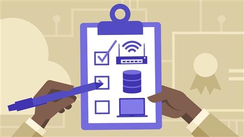 course illustration for Cisco ICND2 Cert Prep: Infrastructure Services