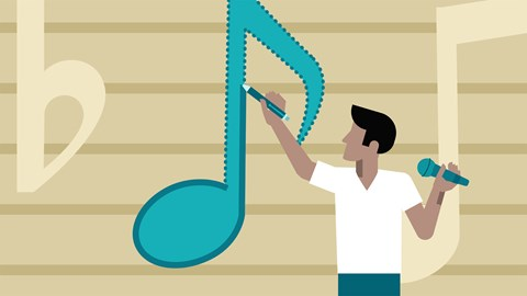 course illustration for Introduction to Songwriting