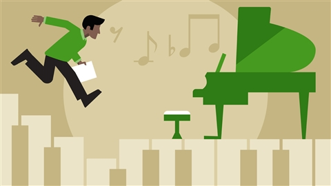 course illustration for Jazz Piano Lessons: 2 Song Foundations
