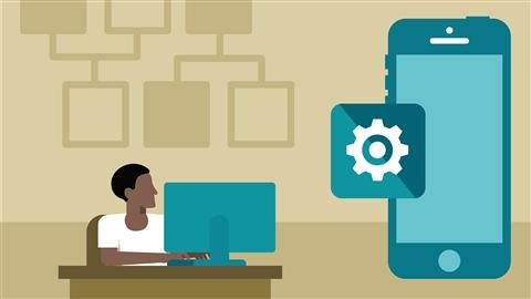 course illustration for iOS App Development: Design Patterns for Mobile Architecture