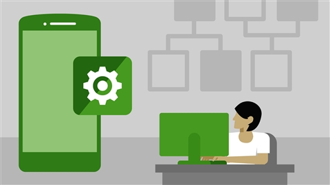 course illustration for Android App Development: Design Patterns for Mobile Architecture