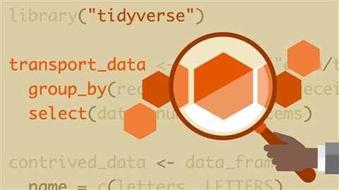 course illustration for Learning the R Tidyverse
