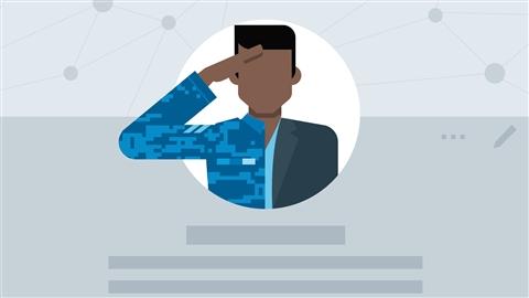 course illustration for LinkedIn for Veterans