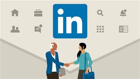 course illustration for Learning LinkedIn