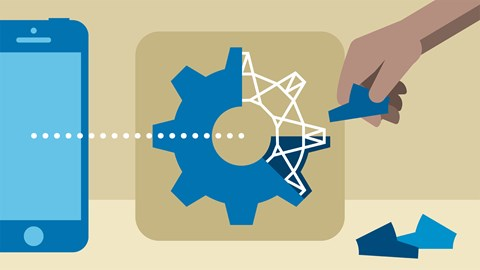 course illustration for iOS 11 Development Essential Training: Application Architecture