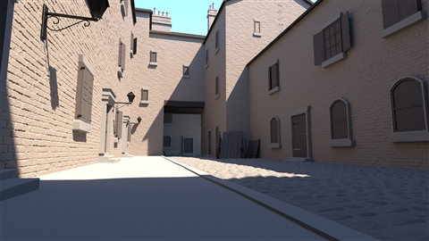 course illustration for SketchUp: Rendering with V-Ray 3