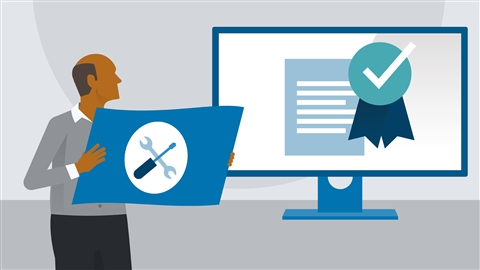 course illustration for IT Service Desk Careers and Certifications: First Steps