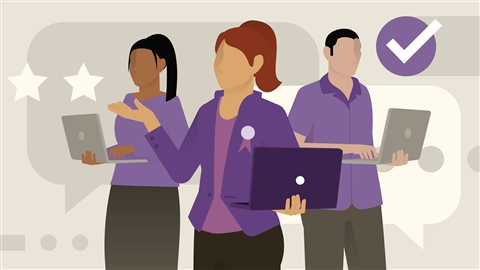 course illustration for Customer Service Leadership