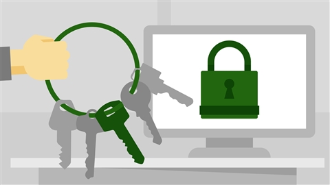 course illustration for CompTIA Security+ (SY0-501) Cert Prep: 6 Cryptography