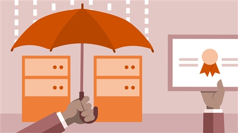 course illustration for CompTIA Security+ (SY0-501) Cert Prep: 5 Risk Management