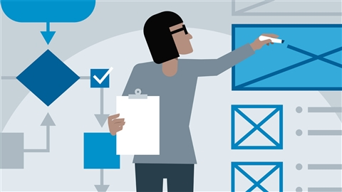 course illustration for UX Foundations: Interaction Design