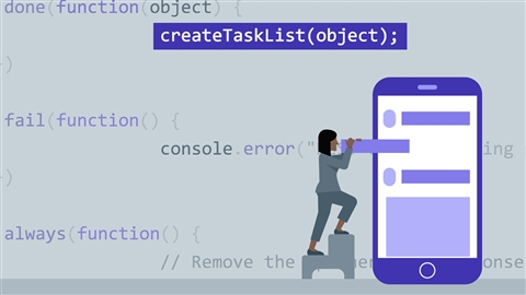 course illustration for WordPress REST API: Building an Interactive Web App