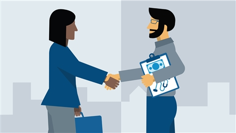 course illustration for HR as a Business Partner