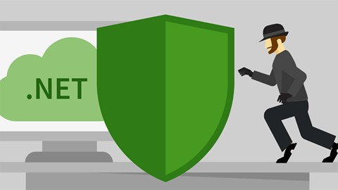 course illustration for ASP.NET Core: Security