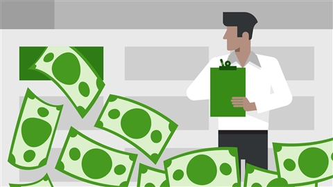 course illustration for Excel: Analyzing and Visualizing Cash Flows