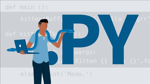 course illustration for Python Essential Training