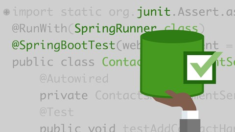 course illustration for Spring: Test-Driven Development with JUnit