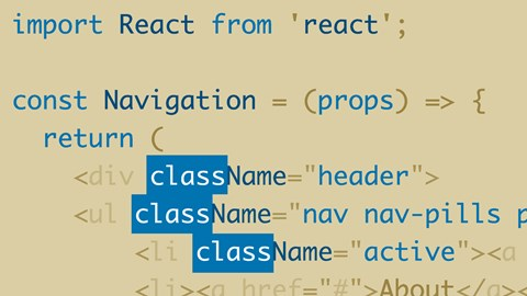 course illustration for React: Replacing Legacy Projects