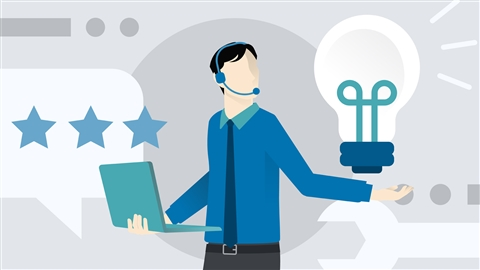 course illustration for Customer Service: Problem Solving and Troubleshooting