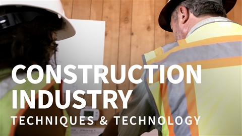 course illustration for Construction Industry: Techniques and Technology