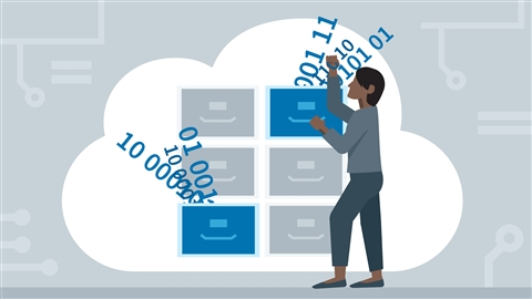 course illustration for Amazon Web Services: Storage and Data Management