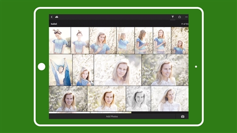 course illustration for Learning Lightroom Mobile: Import and Capture