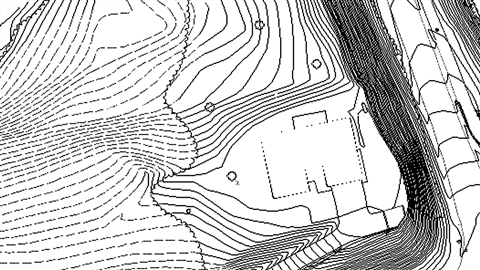 course illustration for AutoCAD Civil 3D: Topographic and Boundary Survey