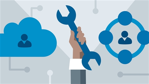 course illustration for Microsoft Cloud Services: SharePoint Online, OneDrive, and Skype for Business Online (2017)