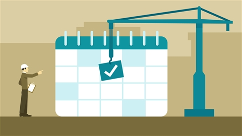 course illustration for Construction Management: Planning and Scheduling