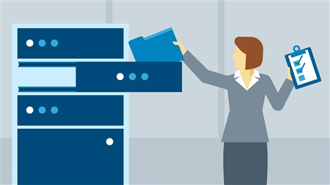 course illustration for Exchange 2016: Compliance, Archiving, eDiscovery, and Auditing