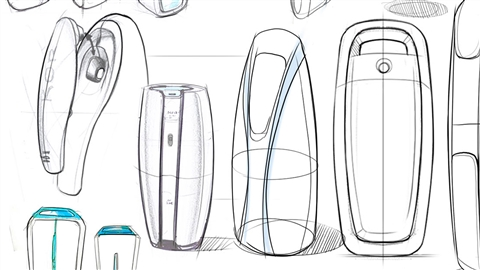 course illustration for Industrial Design Foundations