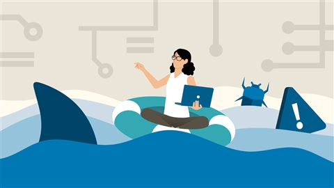 course illustration for Wireshark: Malware and Forensics
