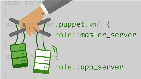 course illustration for Learning Puppet
