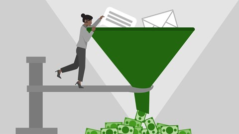 course illustration for Marketing Foundations: The Marketing Funnel