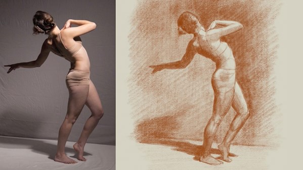 nude modeling for art classes