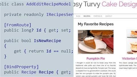 course illustration for ASP.NET Core: Razor Pages