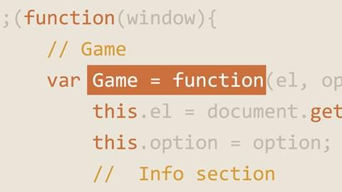 course illustration for Vanilla JavaScript: Binding and Propagation