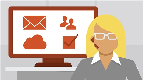 course illustration for Office 365 for Administrators: Supporting Users Part 1