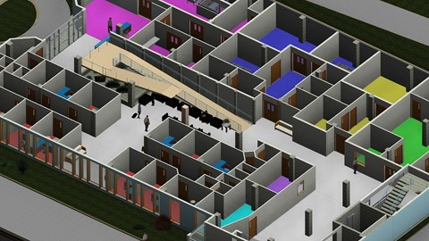 course illustration for Revit and Dynamo for Interior Design