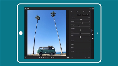 course illustration for Learning Lightroom Mobile: Improve Your Workflow