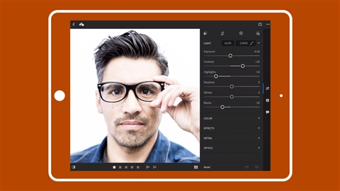 course illustration for Learning Lightroom for Mobile: Improve Your Photos