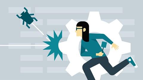 course illustration for Learning JavaScript Debugging