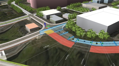 course illustration for InfraWorks: Enhancing and Optimizing Roads