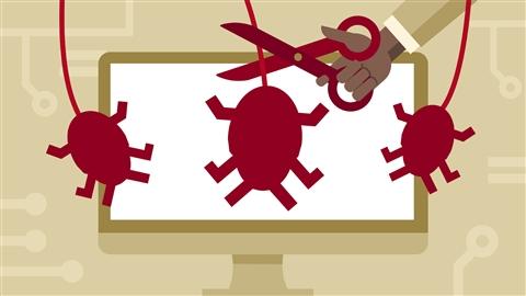 course illustration for CySA+ Cert Prep: 1 Threat Management